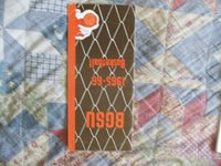 1965-66 BOWLING GREEN FALCONS BASKETBALL MEDIA GUIDE Yearbook 1966 Program AD