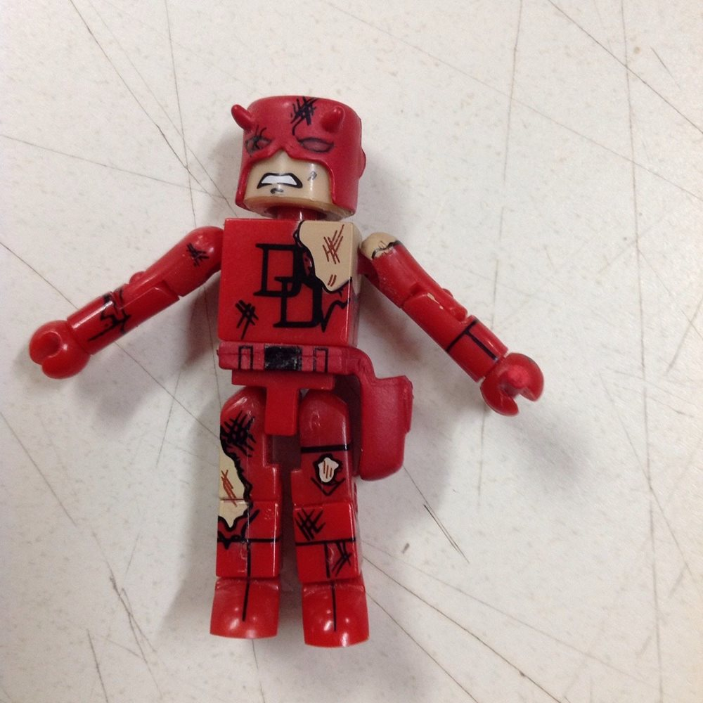 Blue Suit Marvel Minimates Series 4 Bullseye