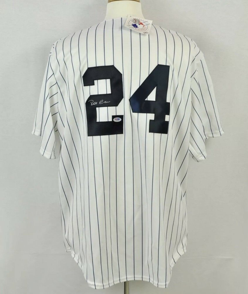 29c32e581 Robinson Cano Autographed Signed Autographed Signed New York Yankees Custom  Jersey Memorabilia PSA DNA. Click To Enlarge