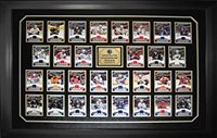 HHOF Captains 2013-14 Game-Used Jersey Card Set LE100 - Hockey Game Used Cards