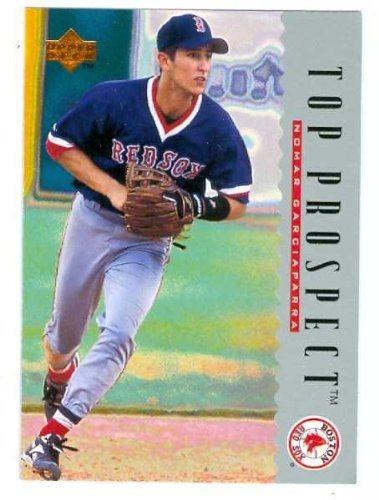 Nomar Garciaparra Baseball Card 1995 Upper Deck 10 Top Prospects Boston Red Sox Rookie Card