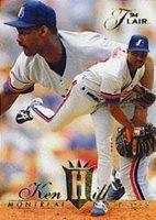 1994 Fleer Flair Baseball Card 192 Ken Hill Mint