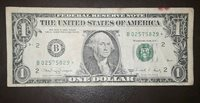 1 dollar star note