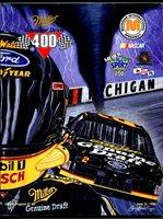 Michigan Int'l Speedway Race Program-NASCAR Miller 400