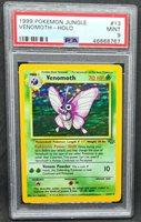 Venomoth 13/64 Holo Jungle Unlimited - PSA 9