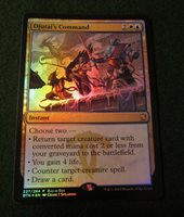 English Unique /& Misc Prom Foil 1x Ojutai/'s Command Buy-a-Box Promo NM-Mint