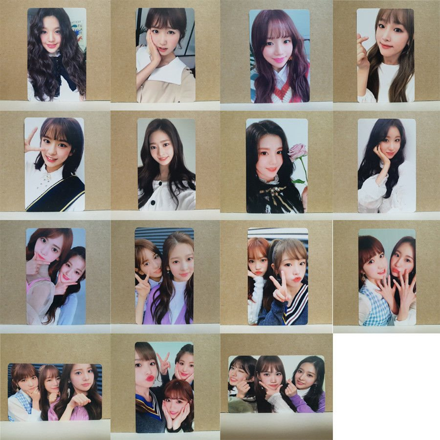 IZ*ONE IZONE COLORIZ 1st Mini Album Photocard Select Member