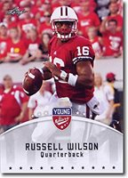 50-Count Lot 2012 RUSSELL WILSON Leaf Young Stars National Excl Promo Rookies