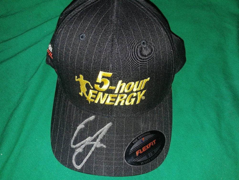 fa73e1a5a Erik Jones #77 Autographed Signed 5 Hour Energy Hat Flexfit 2017 NASCAR  Toyota