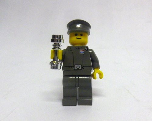 Lego Star Wars Minifigure 2002 Final Duel Imperial Officer 7201