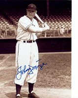 JOHNNY MIZE NEW YORK GIANTS SIGNED AUTOGRAPHED 8x10 PHOTO W/COA