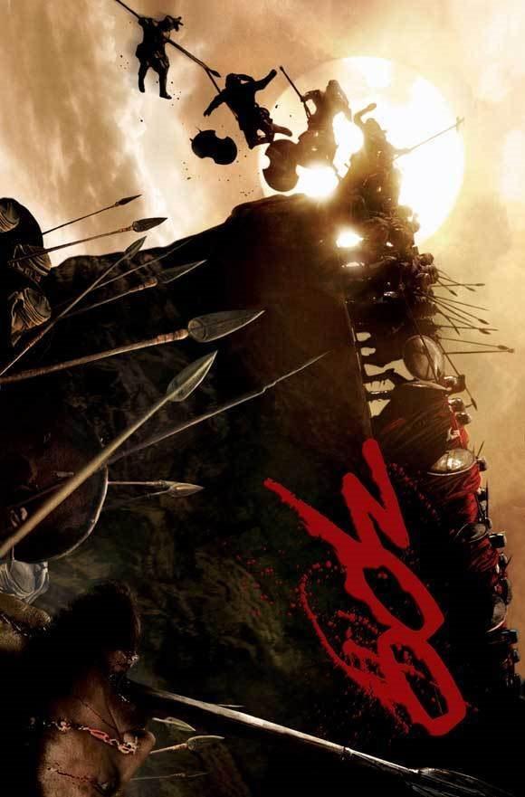 300 Movie Poster 27x40 M Gerard Butler Lena Headey Davi