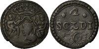 2 Soldi 1762 Murato Italy Staaten Coin, Corsica, General Pasquale Paoli, Murato Billon