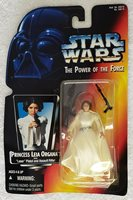 STAR WARS POWER OF THE FORCE PRINCESS LEIA ORGANA W/LASER PISTOL & ASSAULT RIFLE