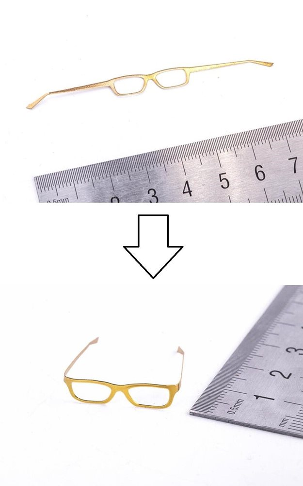 1//6 scale round eye glasses fashion classic for man women hot toys phicen ❶USA❶
